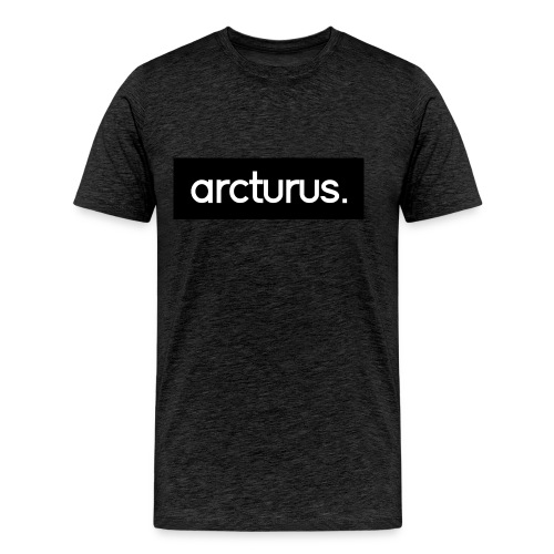 for t white png - Men's Premium T-Shirt