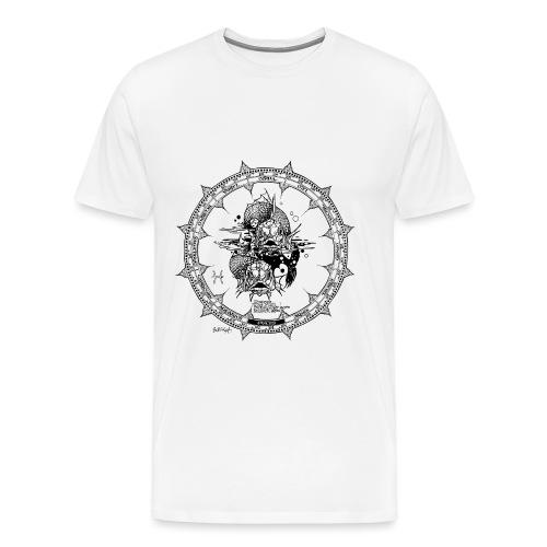 Pisces The Fish - Men's Premium T-Shirt