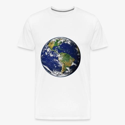 Earth png - Men's Premium T-Shirt