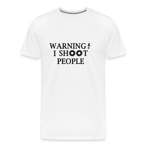 WARNING! - Men's Premium T-Shirt
