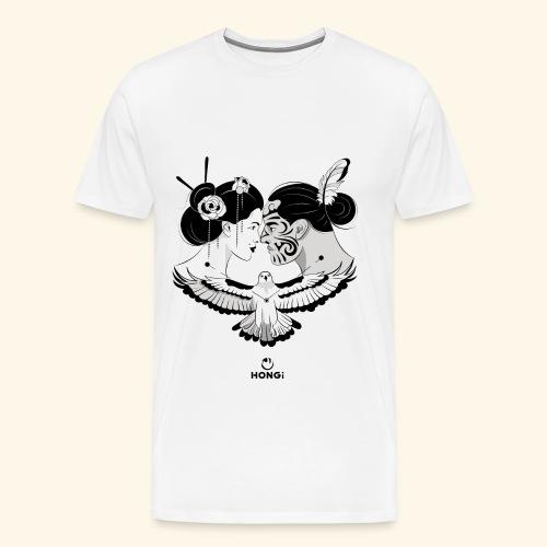 HONGi MaoriJapanese s - Männer Premium T-Shirt