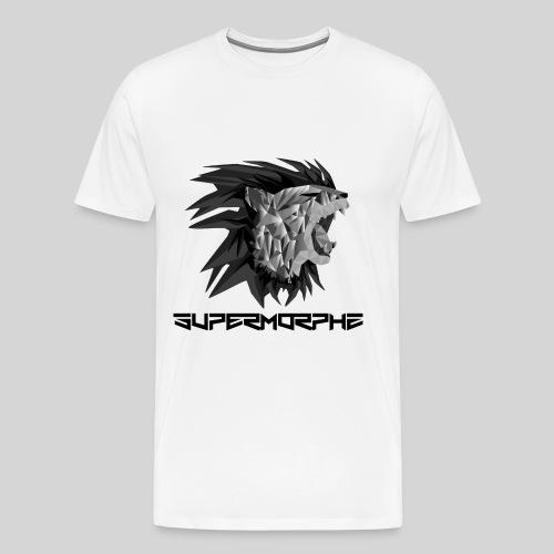 SuperMorphz Metal Lion - Männer Premium T-Shirt