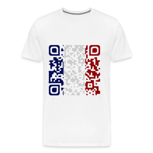 QR CODE SOUVENIR DE PARIS - T-shirt Premium Homme