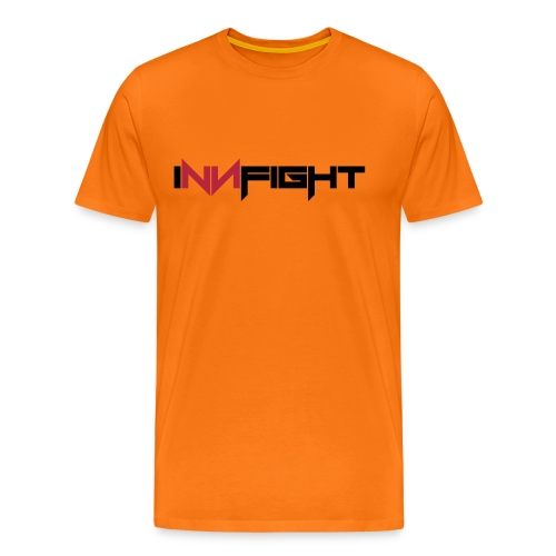 Innfight logo redblack - Männer Premium T-Shirt