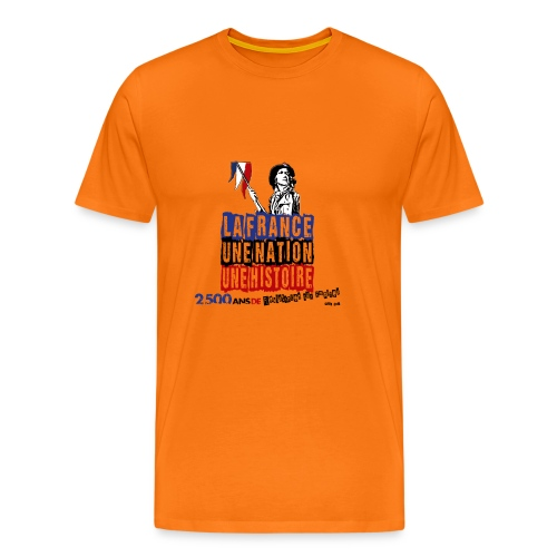 1792 NOIR - T-shirt Premium Homme