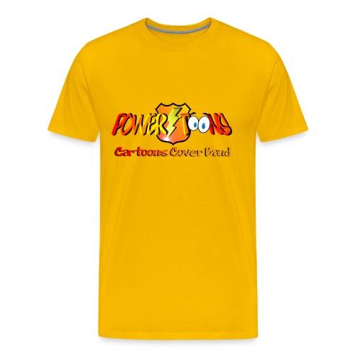 PowertOOns Logo Ufficiale - Maglietta Premium da uomo