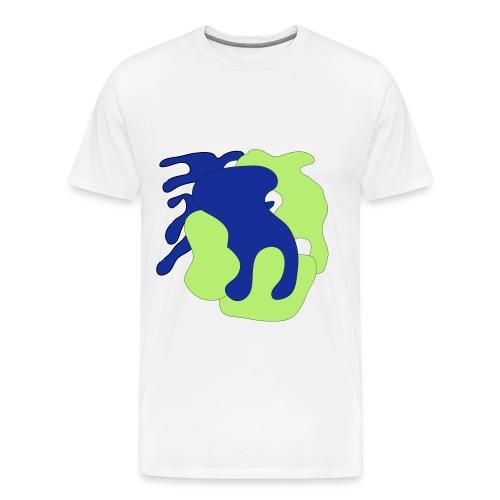 Macchie_di_colore-ai - Maglietta Premium da uomo