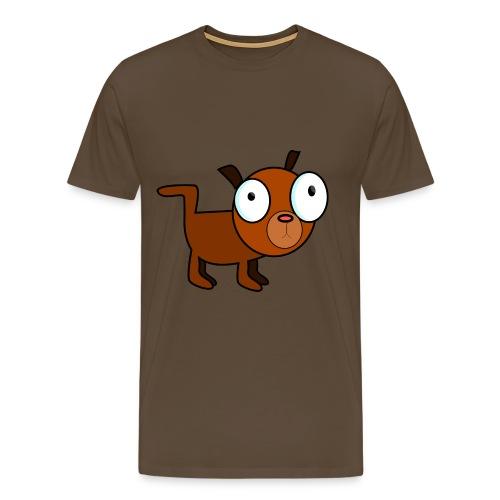 dog dawg animal 1979px png - Mannen Premium T-shirt