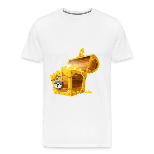 Gold Coins Treasure Chest PNG Clipart Picture png - Mannen Premium T-shirt
