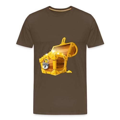 Gold Coins Treasure Chest PNG Clipart Picture png - Mannen Premium T-shirt