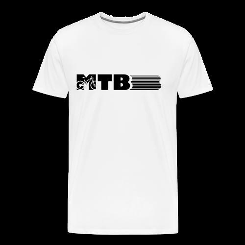 MTB Mountainbike Design - Männer Premium T-Shirt
