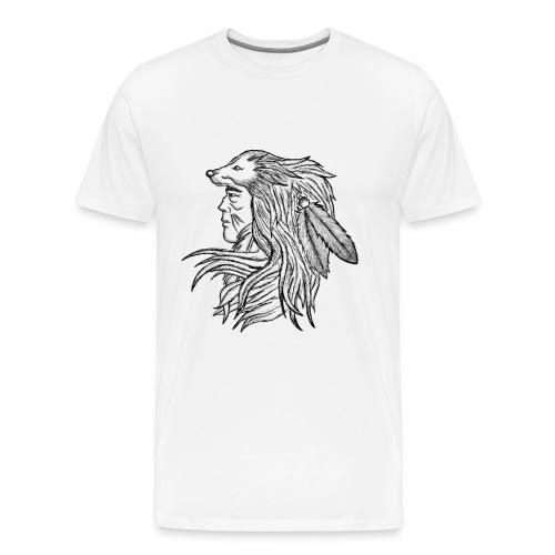 Native American - Maglietta Premium da uomo