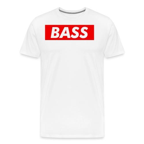 Red Bass Logo Tee - Men's Premium T-Shirt