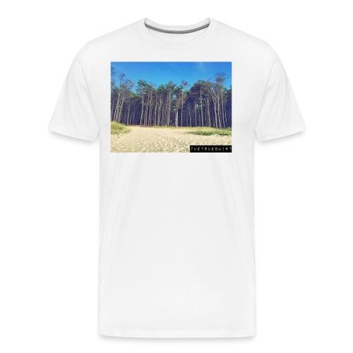 Plage de la Lagune - T-shirt Premium Homme