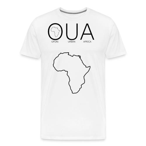 Africa outline png - Men's Premium T-Shirt