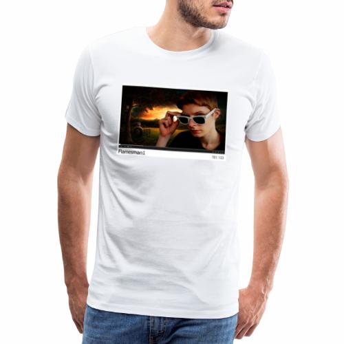 Flamesman1 på YouTube - Herre premium T-shirt