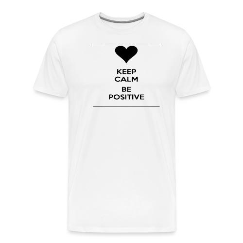 keep- positive - Maglietta Premium da uomo