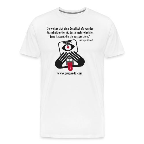 tshirt design 1 png - Männer Premium T-Shirt