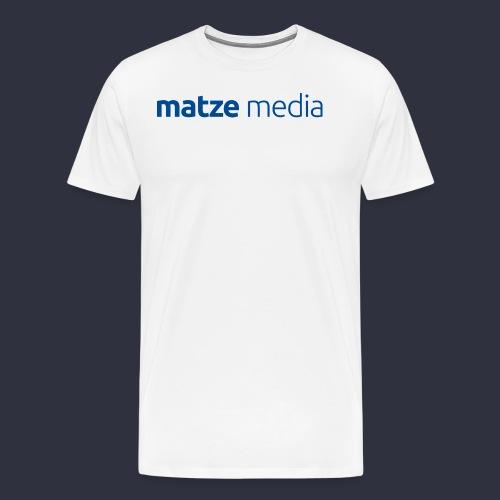 matze media_normal - Männer Premium T-Shirt