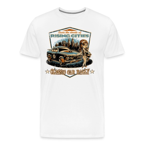 risingcities classiccarrally - Männer Premium T-Shirt