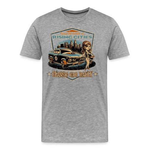 risingcities classiccarrally - Männer Premium T-Shirt