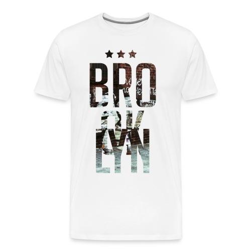 Brooklyn A - Men's Premium T-Shirt