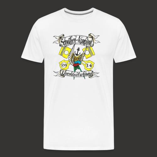 LOGO-SKN14 schwarz - Männer Premium T-Shirt