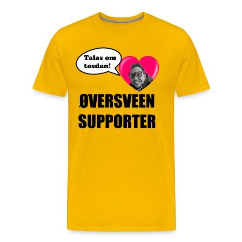 talas luv - Premium T-skjorte for menn
