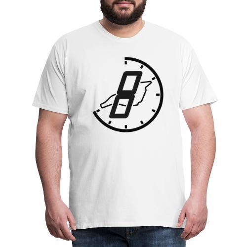 Official 8h Imola Logo - Männer Premium T-Shirt