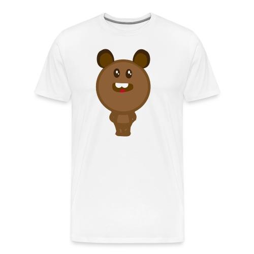 Logo happy bear - Camiseta premium hombre