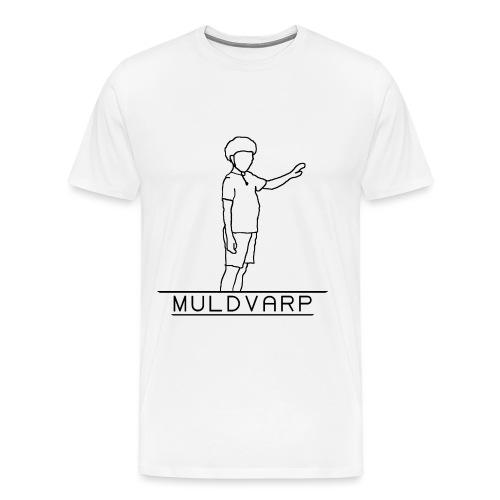 Muldvarp png - Herre premium T-shirt