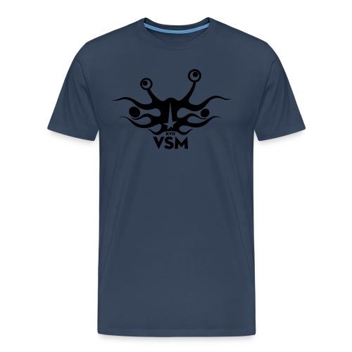 Kerk van het Vliegend Spaghettimonster - Mannen Premium T-shirt