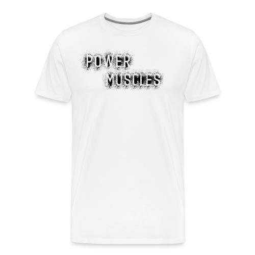 Aufschrift schwarz - Männer Premium T-Shirt