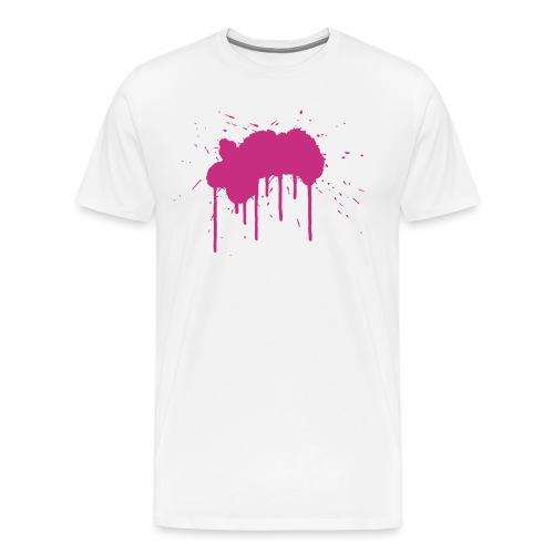 Grosser Klecks - Männer Premium T-Shirt