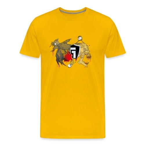 shirt2white1 - Men's Premium T-Shirt