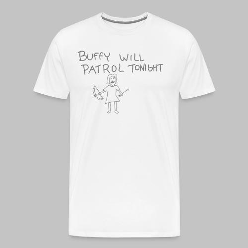 buffy's patrol - Men's Premium T-Shirt