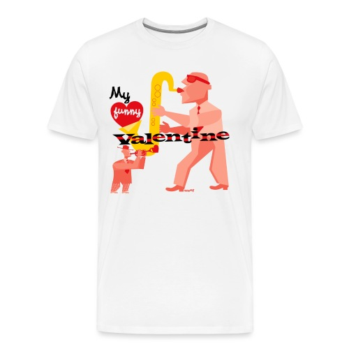 My funny valentine. jazz - Men's Premium T-Shirt