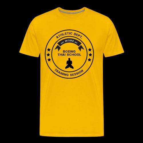 MTS92 BOXING THAI SCHOOL ROND - T-shirt Premium Homme