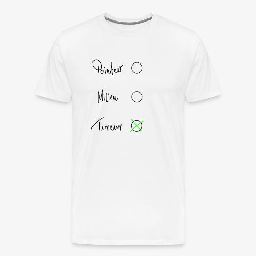 Tireur - Männer Premium T-Shirt