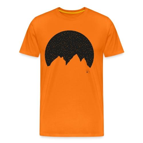 Aiguilles d arves WLAE png - Men's Premium T-Shirt