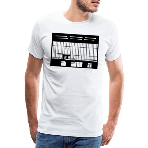 Abfertigungshalle THF - Männer Premium T-Shirt