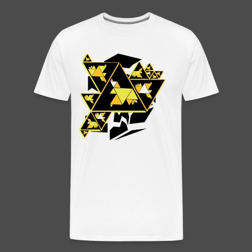 Triangle Art - Men's Premium T-Shirt