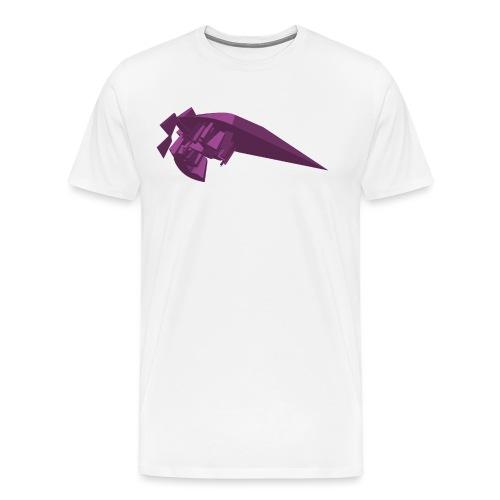 Purple vector - Men's Premium T-Shirt