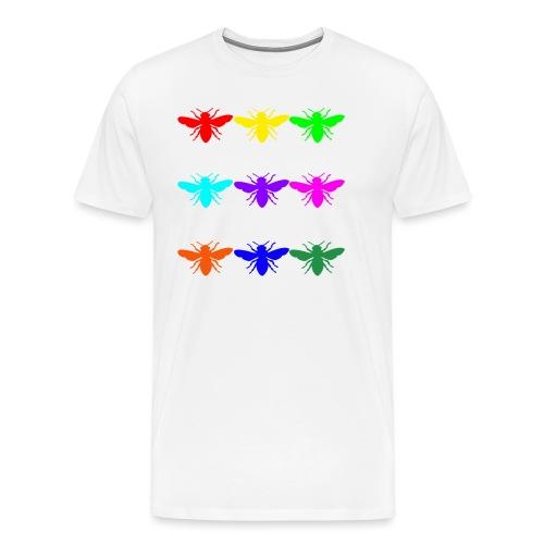 Rainbow Honey Bee - Men's Premium T-Shirt