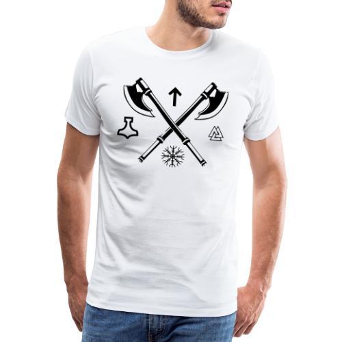 Axes - Männer Premium T-Shirt