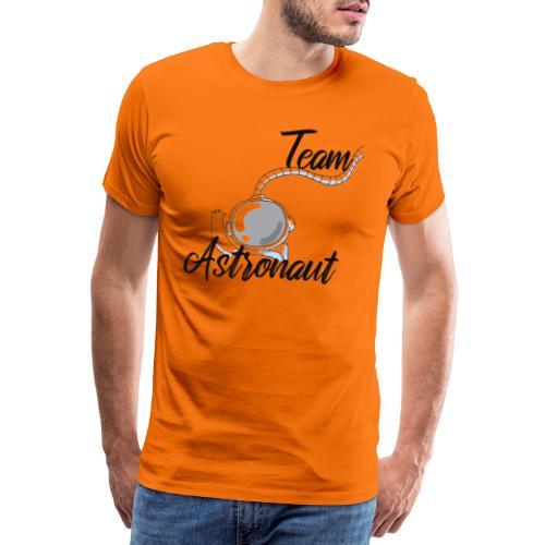 team astronaut - Männer Premium T-Shirt