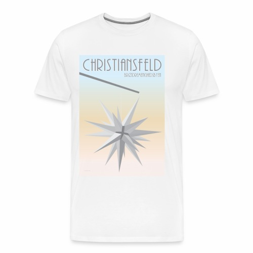 christiansfeld brødremeninghedsbyen - Herre premium T-shirt