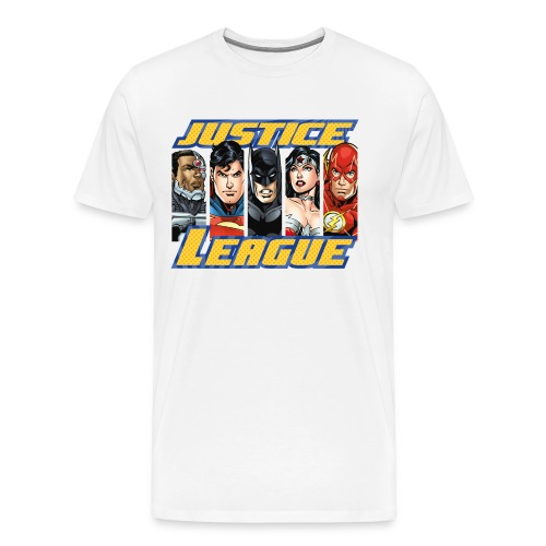 DC Comics Justice League Superhelden - Männer Premium T-Shirt