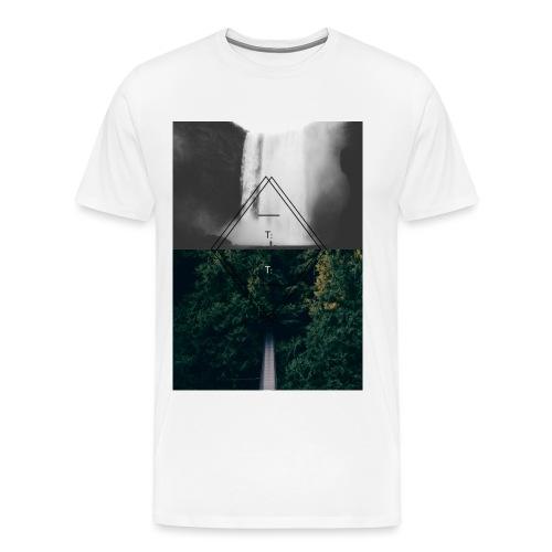 techno png - Men's Premium T-Shirt