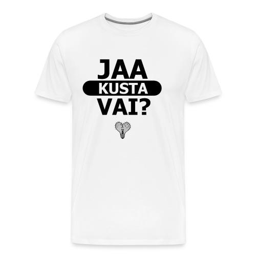 logo original - Miesten premium t-paita